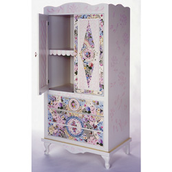 Rosedale Mosaic Armoire