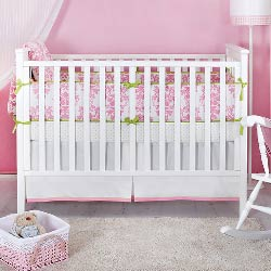 Ela Organic Crib Bedding Set