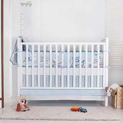 Nevo Organic Crib Bedding Set