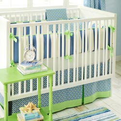 Boardwalk 3 Piece Crib Bedding Set