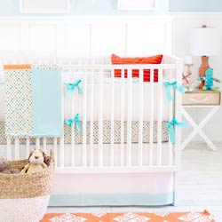 Personalized Carnival Baby Crib Bedding