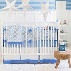 Personalized Carousel Baby Crib Bedding