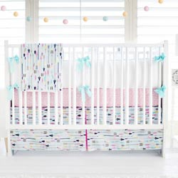 Personalized Little Explorer in Pink Crib Collection