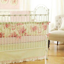 Roses for Bella Crib Bedding Set