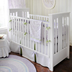 Sweet Violet 3 Piece Crib Bedding