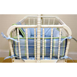 Sweet Pea Cradle Bedding