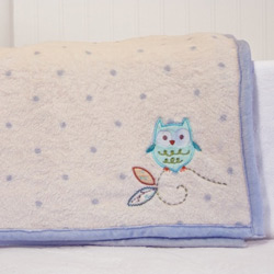 Owl Coral Fleece Blanket