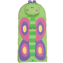 Personalized Butterfly Sleeping Bag