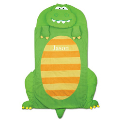Personalized Dinosaur Fun Sleeping Bag