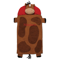 Personalized Horse Sleeping Bag