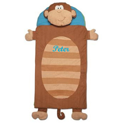 Personalized Monkey Sleeping Bag