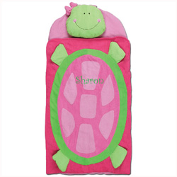 Personalized Turtle Sleeping Bag