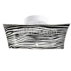 Zebra Stripe Ceiling Lamp