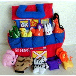 Personalized Noah�s Ark Play Set
