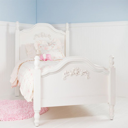 Cape Cod Beadboard Bed with Roses