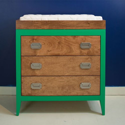 Devon Three Drawer Dresser Changer