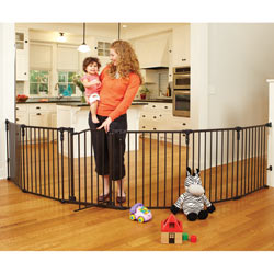 3 in 1 Arched Decor Metal Play Yard
