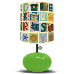 Animal Alphabet Lamp