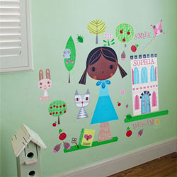 Paper Doll-Annika Wall Decal