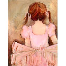 Sweet Ballerina Wall Art