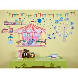 Carousel Wall Decal