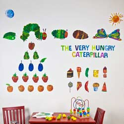 The Very Hungry Caterpillar Wall Decal