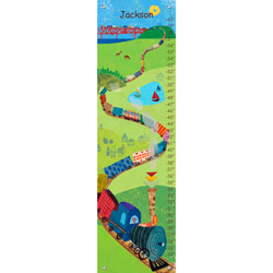 Choo Choo Train Growth Chart