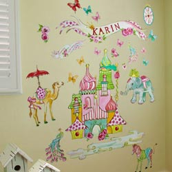 Exotic Kingdom Wall Decal