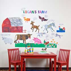 Eric Carles Farm Wall Decal