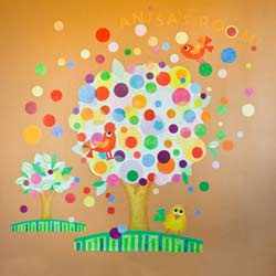 Gumball Tree Wall Decal