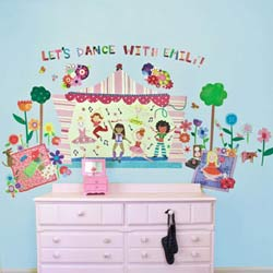 Let's Dance Wall Decal