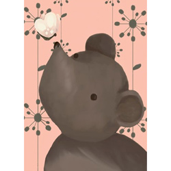 Nosey Posey Canvas Wall Art