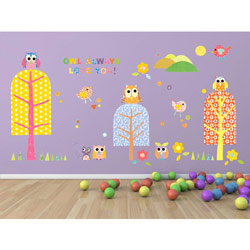 Patterned Park Wall Decal
