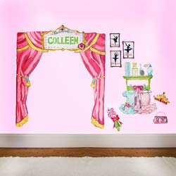 Ballet Recital Wall Decals