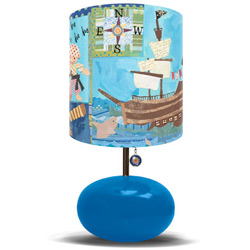 Pirates Life for Me Lamp