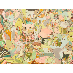 Woodland Sweeties Canvas Art