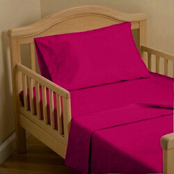 Cerise Toddler Bedding Set