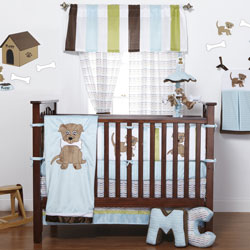 Puppy Pal Crib Bedding Set