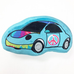 Terrific Tie Dye Decorative Car Pillow