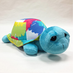Terrific Tie Dye Stuffed Turtle