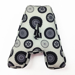 Teyo's Tires Letter Pillows