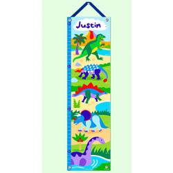 Dinosaurland Kids Growth Chart