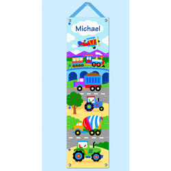 Trains Planes and Trucks Growth Chart