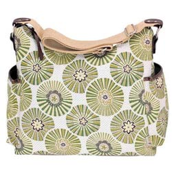 Floral Disc Hobo Diaper Bag