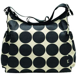 Sand Dot Hobo Diaper Bag