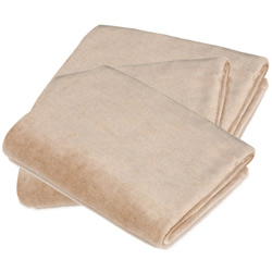 Organic Cotton Velour Changing Table Pad Cover