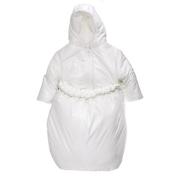 Pleated Ruffle 2 in1 Snowsuit Bunting