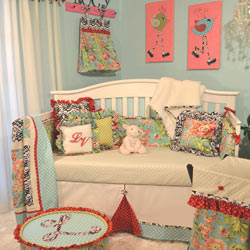 Lucy Victoria Crib Bedding Collection