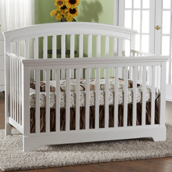 Alba Forever Crib with Toddler Rail