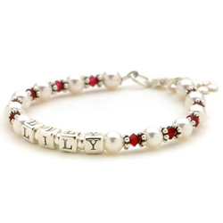 Personalized Swarovski Bracelet